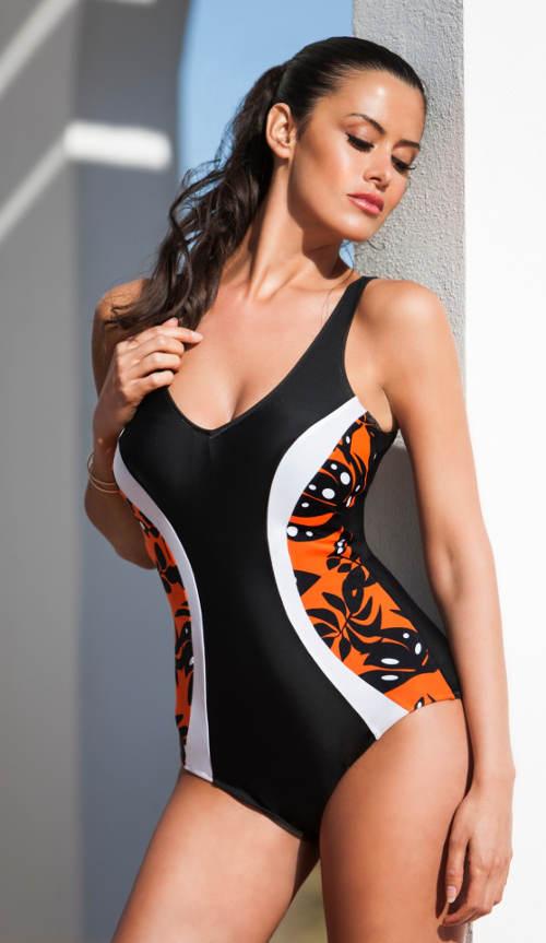 Wyszczuplający jednoczęściowy kostium kąpielowy Deidad 2019