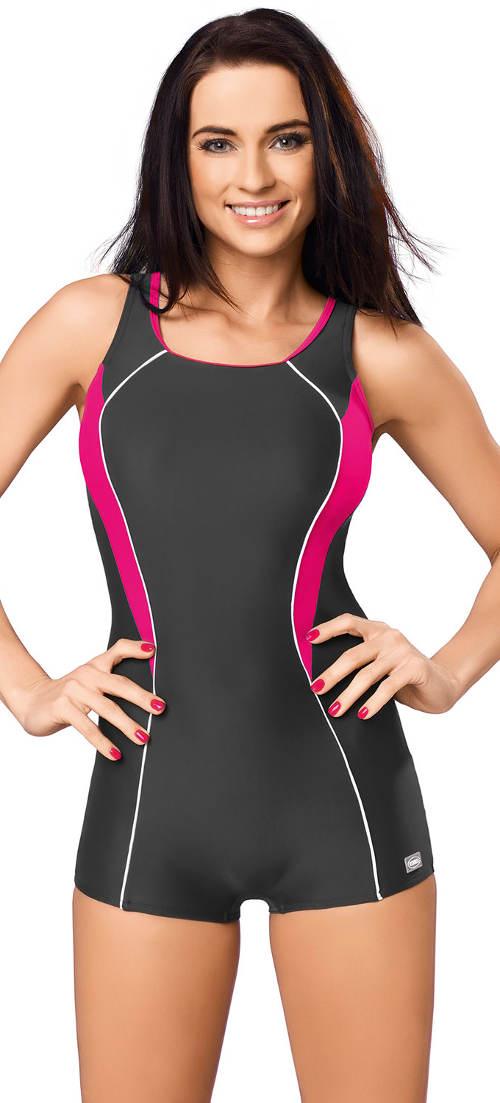 Sportowy strój kąpielowy z dłuższą nogawką