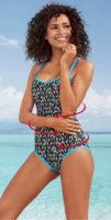 Jednoczęściowy kostium kąpielowy Plus size