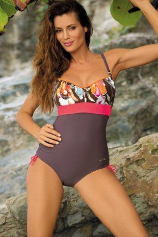 Jednoczęściowy strój kąpielowy push-up dla plus size Marko Michelle