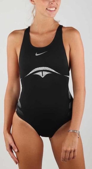 Tanie czarne stroje sportowe jednoczęściowe Nike